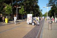 Dadu ledu reklamine kampanija, reklaminis velomobilis, reklamos masinos, advertising bike, promobike