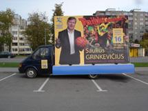 Saulius Grinkevicius, Liberalu centro sajunga
