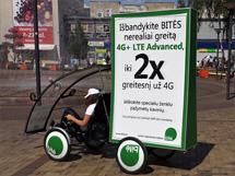 Išbandykite Bitės nerealiai greitą LTE Advanced internetą